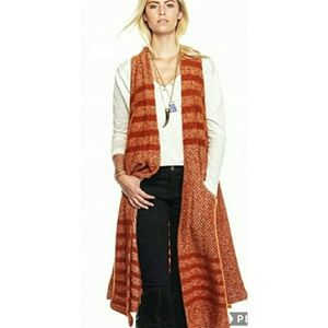 Free People | Queens Park Maxi Sweater Vest Medium